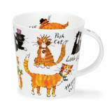 Dunoon Cairngorm A Cat's Life Fine bone china mug