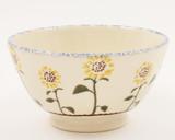 Brixton Pottery Sunflowers Medium Bowl