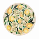 Emma Bridgewater Lemons Round Birch Tray