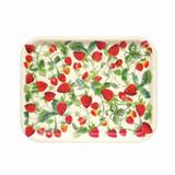 Emma Bridgewater Strawberries Rectangular Birch Tray
