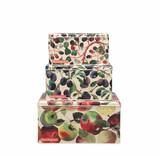 Emma Bridgewater Set of 3 Fruits Square Cake Tins