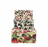 Emma Bridgewater Set of 3 Fruits Square Cake Tins