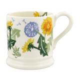 Hand made Dandelion 1/2 pint mug by Emma Bridgewater.