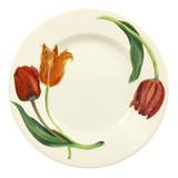 Emma Bridgewater Flowers Tulips 10 1/2 inch plate.