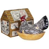Emma Bridgewater Silver Large Hen on Next Boxed