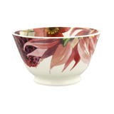 Emma Bridgewater Flowers Red and Pink Dahlias small Old Bowl.