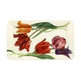 Emma Bridgewater Flowers Tulips Oblong Plate. Handmade in England.