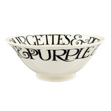 Emma Bridgewater Black Toast Courgettes & Peas Medium Serving Bowl