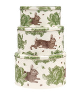 Thornback & Peel Rabbit & Cabbage Set of 3 Cake Tins