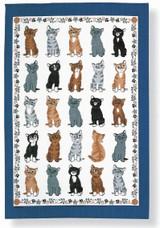 Kittens Arrived Tea Towel