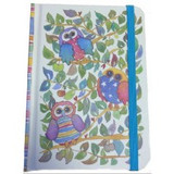 Owls A6 Hardback Notebook