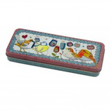Emma Ball Stitched Birdies Pencil Tin