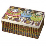 Emma Ball Sheep in Sweaters Rectangular Box Tin
