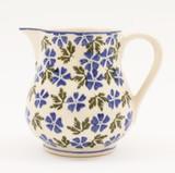 Brixton Pottery Geranium small pottery jug.