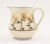 Brixton Pottery Sunflowers medium pottery jug.