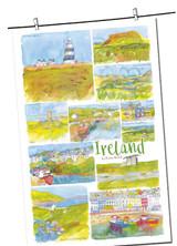 Ireland 100% cotton tea towel from Emma Ball.