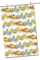 Sheep in Sweaters 100% Cotton Tea Towel from Emma Ball.