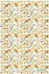 Garden Birds Tea Towel from Emma Ball