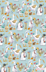 100% Cotton Animal Magic Tea Towel from Emma Ball.