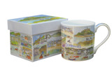 Emma Ball Cornwall Bone China Mug (Boxed)
