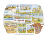 The Highlands Melamine Scatter Tray from Emma Ball