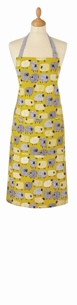 Dotty Sheep Cotton Apron from Ulster Weavers.