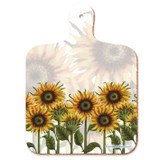 Caroline Cleave Sunflowers mini chopping board from Emma Ball.