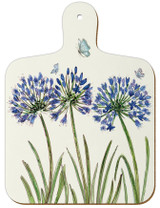 Caroline Cleave Agapanthus mini chopping board from Emma Ball.