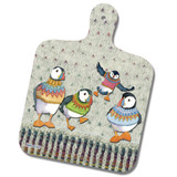 Woolly Puffins mini chopping board from Emma Ball.