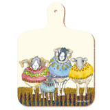 Sheep in Sweaters mini chopping board from Emma Ball.