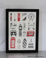 The Big Smoke Print from Victoria Eggs.