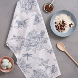 100% cotton Wildlife in Spring Tea Towel from Victoria Eggs.