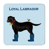 Emma Lawrence Loyal Labrador Coaster
