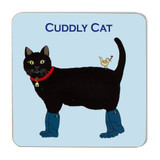 Emma Lawrence Cuddly Cat Coaster