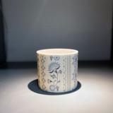 Alex Allday Jasmine Ceramic Planter Pot/Tea Light Holder