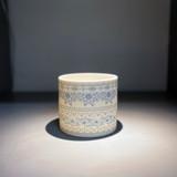 Alex Allday Safflower Ceramic Tea Light Holder