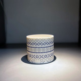 Alex Allday Victorian Tiles Ceramic Tea Light Holder