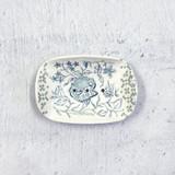 Alex Allday Peony Ceramic Soap Dish