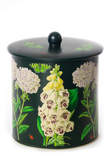 Madame Treacle Midnight Botanical Biscuit Barrel