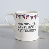 Nice Cup of Tea and a Piece of Battenburg Mug