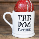 Pottery The Dog Father mug from Sweet William Designs.