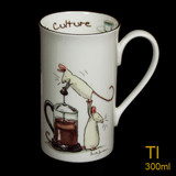 Cafe Culture Tall mug by Anita Jeram.