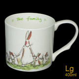The Family Bone China mug by artist Anita Jeram.