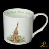Bad Hare Day mug by artist Anita Jeram.