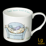 Laid Back Guy mug by artist Anita Jeram.
