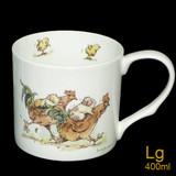 Rooster Race mug by artist Anita Jeram.