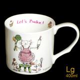 Let's Bake mug by artist Anita Jeram.