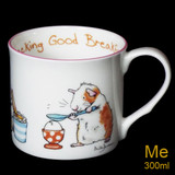 Cracking Good Breakfast mug by artist Anita Jeram.