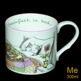 Breakfast in Bed mug by artist Anita Jeram.