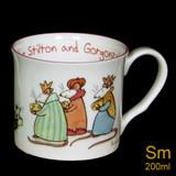 Cheddar, Stilton & Gorgonzola mug by artist Anita Jeram.